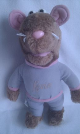 Vintage Rare 1984 Big 'Kevin the Gerbil' Roland Rat Collectable Plush Toy